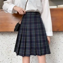 Lady Classic Wine Red Plaid Skirt Plus Size Pleated Plaid Skirt Christmas Outfit image 7