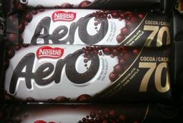 Nestle Aero Dark Bars 70% Cocoa 48 bars a Canadian Original - $99.99