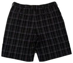 "IZOD Plaid Flat Front Golf Shorts Men's W36 Inseam 9"" 100% Polyester image 2"
