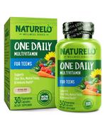 Naturelo Teen Boys & Girls Daily Multivitamin Capsules - 30ct - $29.99