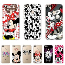 Minnie Mickey TPU Silicone Cases for Huawei P smart Case Cover Coque Protector f - $13.95