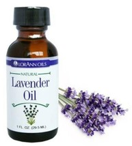 2 Lorann Hard Candy Flavoring Lavender Oil Flavor 1 Ounce - $27.72