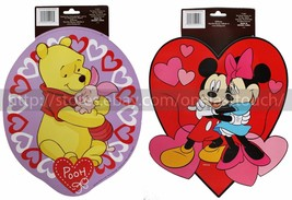 DISNEY* Paper VALENTINES DAY Decor WALL DECORATION Clever Factory *YOU C... - €2,53 EUR