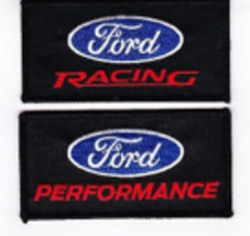Ford Racing Performance SEW/IRON On Patch Embroidered Shelby Cobra Mustang - $8.99