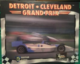 New Detroit Cleveland Grand Prix Wolfgang Kramers Auto Racing Mayfair Ga... - $17.41