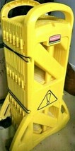 Rubbermaid 13 ft. Mobile Safety Barrier FG9S100YEL 9S11-00 Yellow Crowd ... - $189.00
