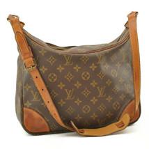 LOUIS VUITTON Monogram Boulogne 30 Shoulder Bag M52165 LV Auth 10702 - $198.00