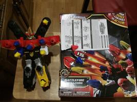 2013 Power Rangers Megaforce BATTLEFIRE MEGAZORD w/Box & Instructions - $12.99