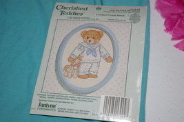 "Janlynn Cherished Teddies Cross Stitch Kit # 139-04 Frame 3.5"" X 4.5"" Te... - $9.00"