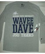 Jackson State University Shirt JSU Cotton  NCAA  Wave Dave T-shirt New L... - $9.85