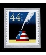 2011 44c Patriotic Quill & Inkwell, Coil Scott 4496 Mint F/VF NH - $1.33