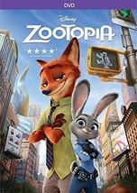 Zootopia DVD Film Disney Kids Family Judy Hopps Nick Wilde Finnick Bogo ... - $42.56