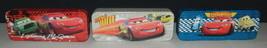 Walt Disney's Cars Characters Set of 3 Tin Catch All Pencil Cases, NEW U... - $14.50