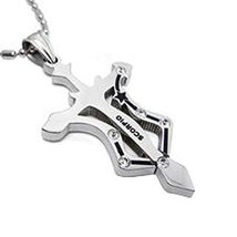 Scorpio Metal Jewelry Pendant Necklace Twelve Constellation Fashion Korean Style