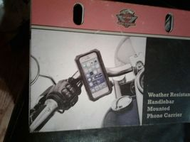 1984-2019 Harley Davidson Weather Resistant Phone Carrier Mount 76000576 OEM NEW image 4