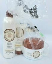 Perlier Honey 25% Shea Butter Cream Shower Hand Cream Body Balm (Set of 3) - $49.99