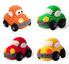 Car Toy Handmade Amigurumi Stuffed Toy Knit Crochet Doll VAC - $17.99