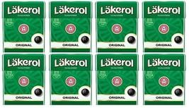 Cloetta Läkerol Original Sugar Free Licorice Menthol Candy 25g * 8 pack  7oz - $17.82
