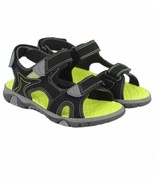 Khombu Kids Boys River Sandal Adjustable Straps black   Sz 2 3 - $15.79