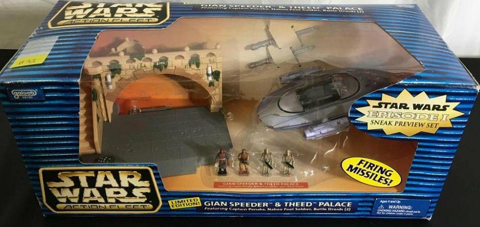 New Star Wars GIAN SPEEDER /& THEED PALACE ACTION FLEET