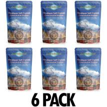 Himalayan Pink Sea Salt Crystal Fine Grain Natural Gluten Free High Quality 6lb - $21.77