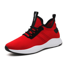 Men Running Shoes Breathable Athletic Sneakers Outdoor Sports Shoes - $60.20