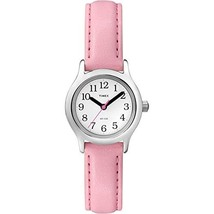 Timex Kid's T79081 Quartz Watch with White Dial Analogue Display and Pink Leathe - $40.00