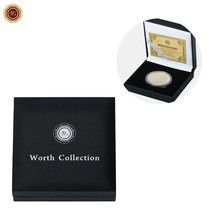 WR Collector's Presentation Box Single Coin Display Storage Case Holds 45mm Coin image 1
