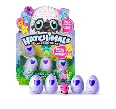 Hatchimals Colleggtibles Mini 4 Pack Bonus - Hatchimal Colleggtible Seas... - $19.79