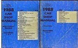 1988 Ford Taurus & Mercury Sable Service Shop Reparatur Werkstatt Manuel... - $9.90