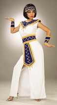 PRINCESS OF THE PYRAMIDS CLEOPATRA EGYPTIAN HALLOWEEN COSTUME ADULT SIZE... - $30.39