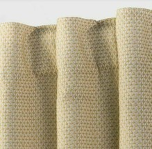 84x50 Small Check Blackout Curtain Panel Tan - Threshold™ - $12.00