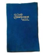 A Girl's Commencement Scrapbook Rosebud Memories Antique Book Elizabeth ... - $29.69