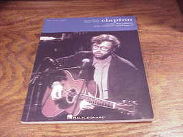 Eric Clapton MTV Unplugged Songbook, for Piano, Vocal and Guitar, with 1... - $9.95