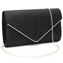GESU Womens Shining Envelope Clutch Purses Evening Bag Handbags For Wedd... - $25.49