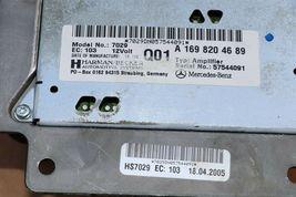 Mercedes W203 W209 Radio Amplifier Amp A1698204689, 169-820-46-89 Herman Becker image 7
