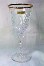 Melodia Calica Large Wine Glass Italian Lead Crystal - $8.31