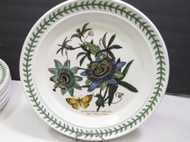 "Portmeirion The Botanic Garden Dinner Plate 10.5"" Blue Passion Flower - $29.70"
