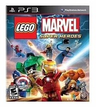 Lego Marvel Super Heroes (Sony Play Station 3, 2013) Disc Is Mint - $9.18