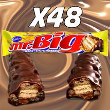 Mr. Big Chocolate Bars X48 Cadbury Canadian Candy - $108.00