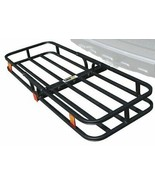 500 lbs Cargo Carrier Hitch Mount Steel Tray 53 x 19 x 4 Hauler Luggage ... - $84.14