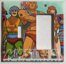 He-Man Masters of the universe Switch Outlet Wall Cover Plate Home decor image 4