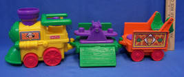 Fisher Price Little People Zoo Train Engine Car Caboose Musical Requires 3 AAA - $11.87