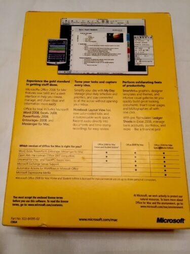 Microsoft Office 2008 for Mac - FULL VERSION