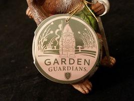 Department 56 Garden Guardians Chester the Chipmunk w Walnut Helmet Twig Spear image 10