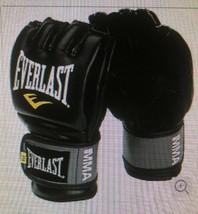 Everlast Pro Style Grappling MMA Gloves - Large (L/XL) - Black - $24.65