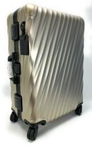 Tumi 19 Degree Aluminum Short Trip  Suitcase Ivory Gold Best Aluminum Lu... - $688.05