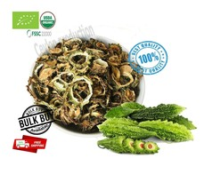 Organic Dehydrated Bitter Gourd/Bitter Melon/Momordica charantia Dried Slices - $6.68+