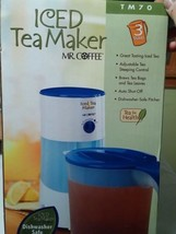 Mr. Coffee 3-Quart Iced Tea Maker 3-Quart Blue ... - $32.71