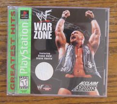WWF War Zone (Sony PlayStation 1, 1998) - $4.46
